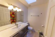 Shared Main Floor Bathroom