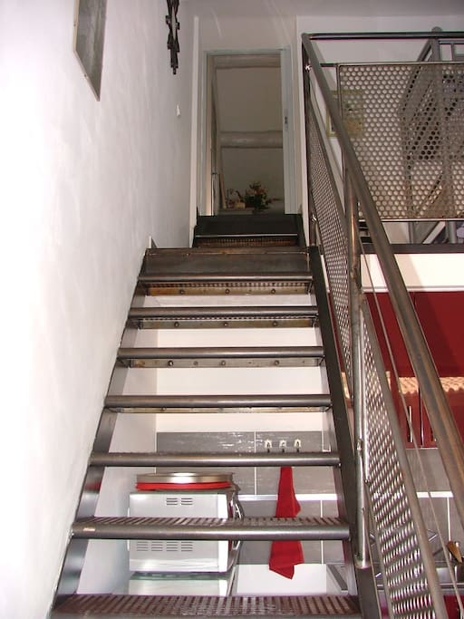 l'escalier du gite