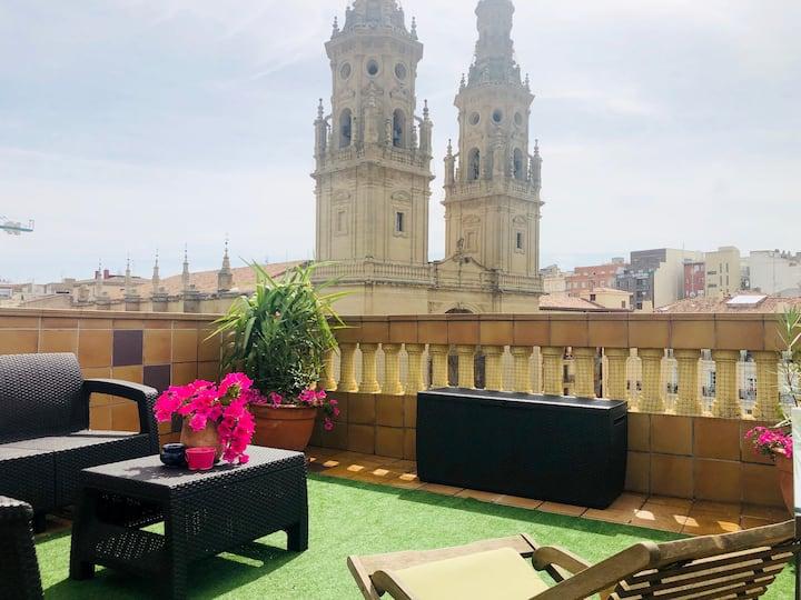 ÁTICO Plaza del mercado - Catedral