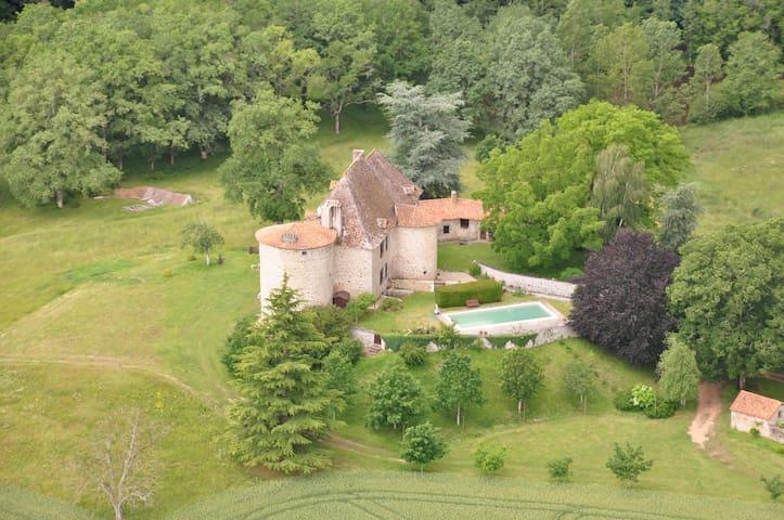 Beautiful & quiet castle - Perigord - Augignac