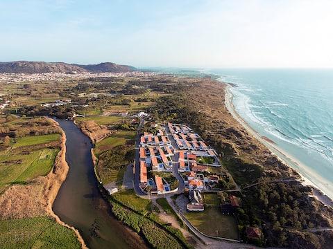 Luxury Villa med fire soverom - langs elven og ved stranden