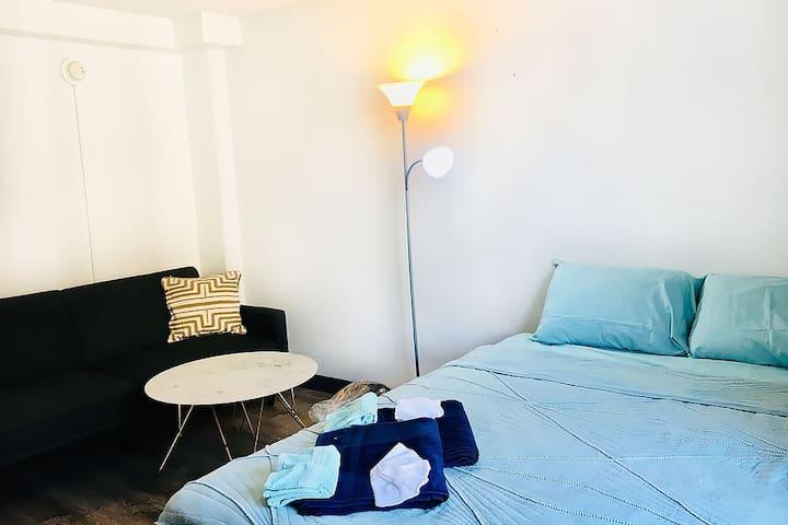 1 month~Good location Studio! Inn On The Park 19F