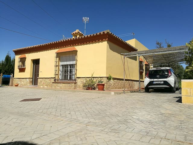 Chalet + Garden+ private parking (pets allowed) - Puerto Real - Chalet
