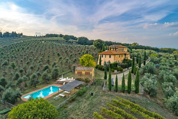 Feriale I. Petrolo Winery. Pool, wi-fi, vineyards