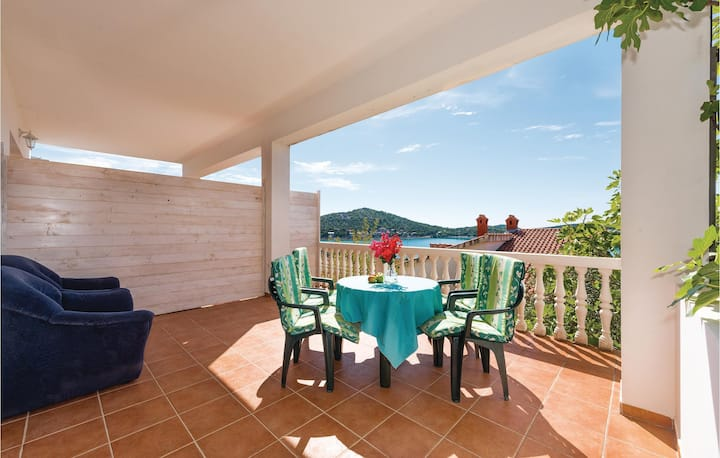 Amazing home in Tisno with WiFi and 1 Bedrooms