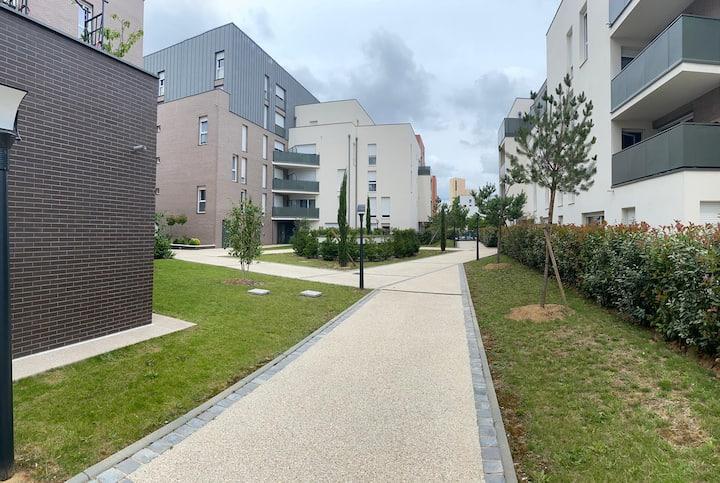 Appartement F3 confortable proche Paris