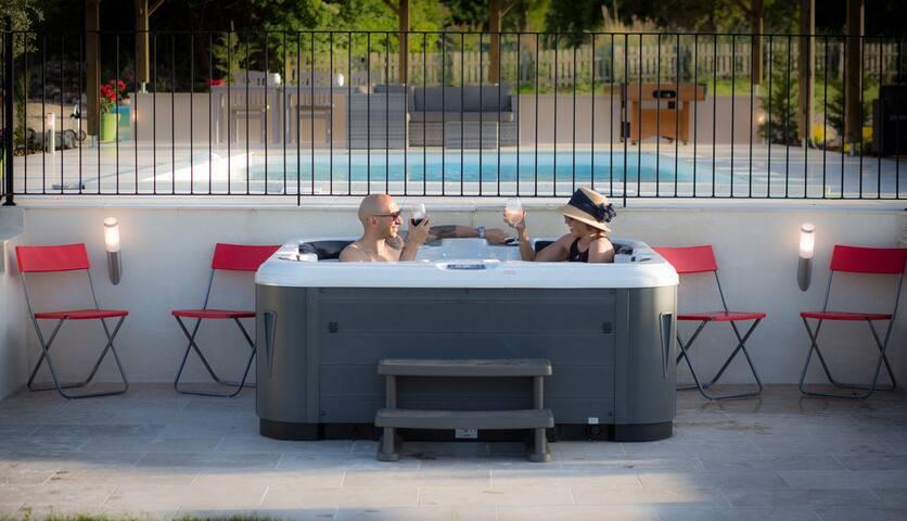 Hot Tub lower deck