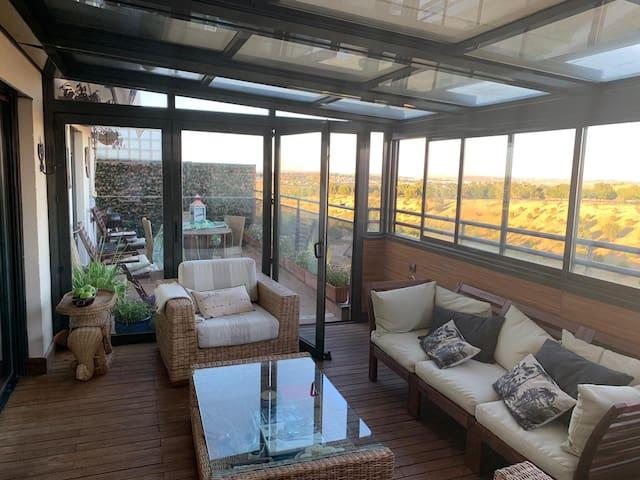 Luxury Penthouse, 10 minutes or Wanda Stadium.