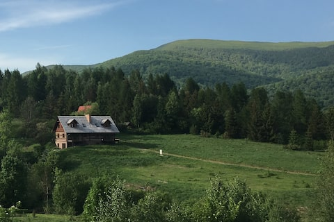 Wetlina 151 - a unique house in the heart of the Bieszczady Mountains