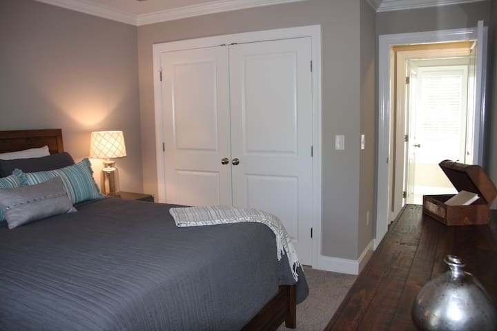 Queen bed for a restful stay!