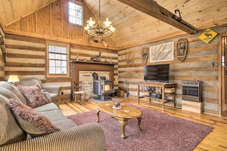 NEW! Scenic Summer Cabin w/Fire Pit, Near Hiking!
