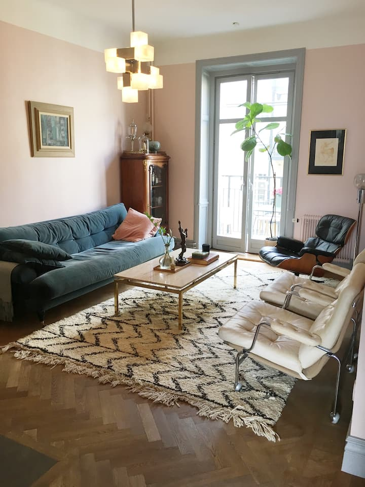 Spacious apartment in the heart of Södermalm