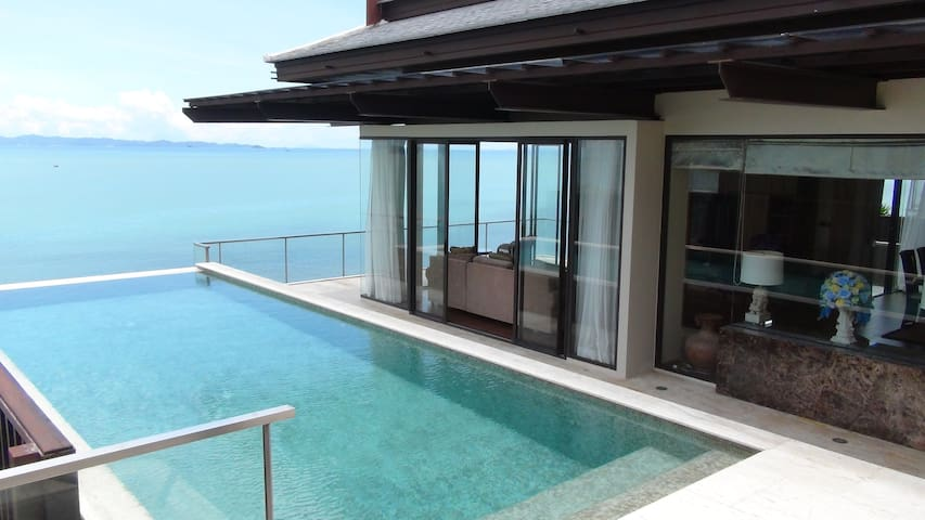 Moon Terrace Luxury Beachfront Villa on Ko Sirey.