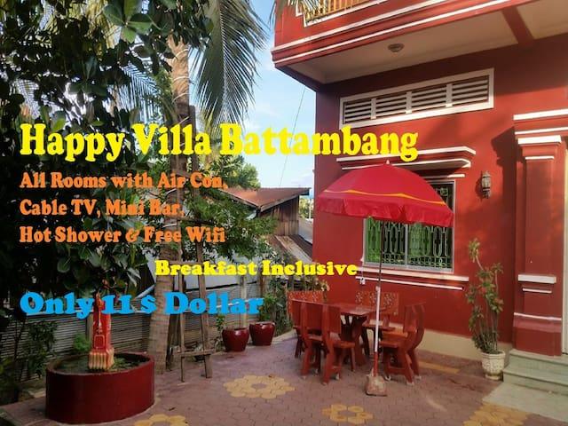 Happy Villa Battambang - Krong Battambang - Hospedaria