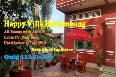 Happy Villa Battambang - Krong Battambang - Pension