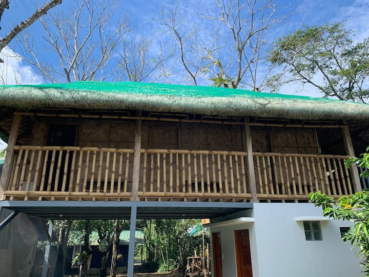Bamboo Room, VOHO Eco Tourism Farms ~ 2pax w/pool