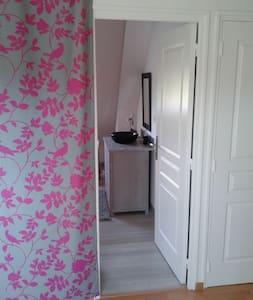 chambre pour 2 à 3 personnes proche circuit 24h - Saint-Mars-la-Brière - Gästhus