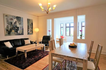 Sea view apartment in the heart of Stege/Møn - Stege - アパート