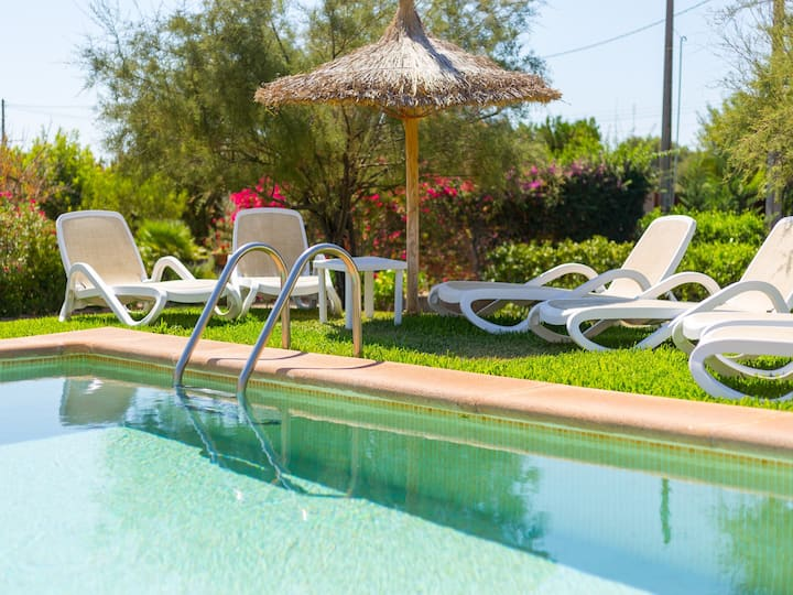 Cas Toro - Beautiful finca with pool in Buger