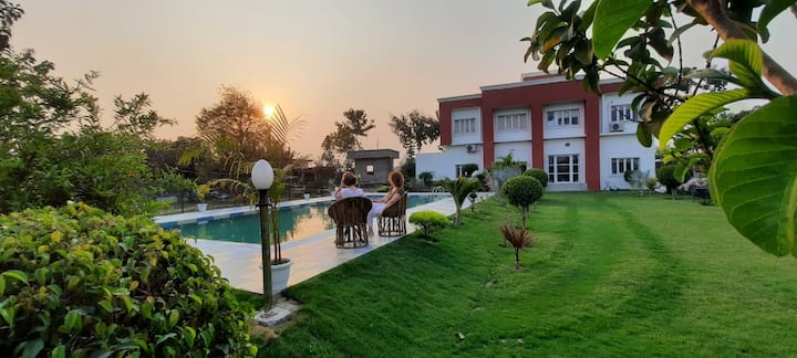 Boutique Room: Garden & Pool Farm Stay at Namastay