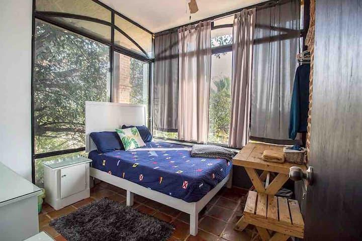 Habitación3 vista PANORAMICA matrimonial Zapopan