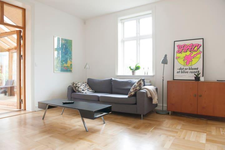 Huge house with green garden - Kopenhagen - Huis