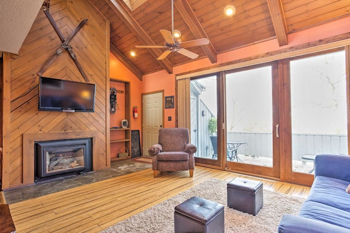 Cozy Beech Mountain w/ Instant Ski Access!