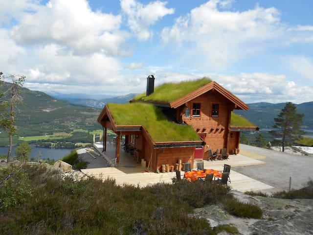 Weitblicken - Vrådal - Blockhütte