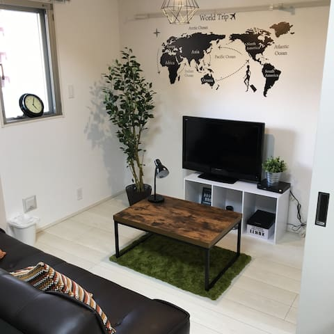 Designers' apartment:Fukuoka,Hakata - 福岡市 - Apartment