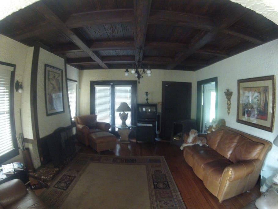 Peaky Cypress Ceilings