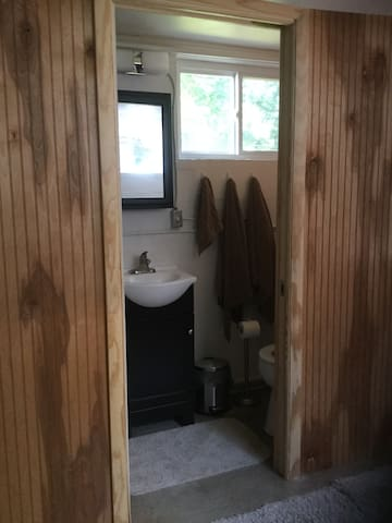Pet friendly basement studio apt in West Asheville