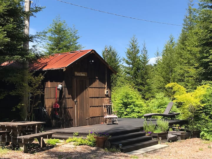 Charming 150 yr. Cabin in the Redwoods