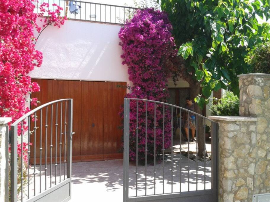 Property entrance from streetside