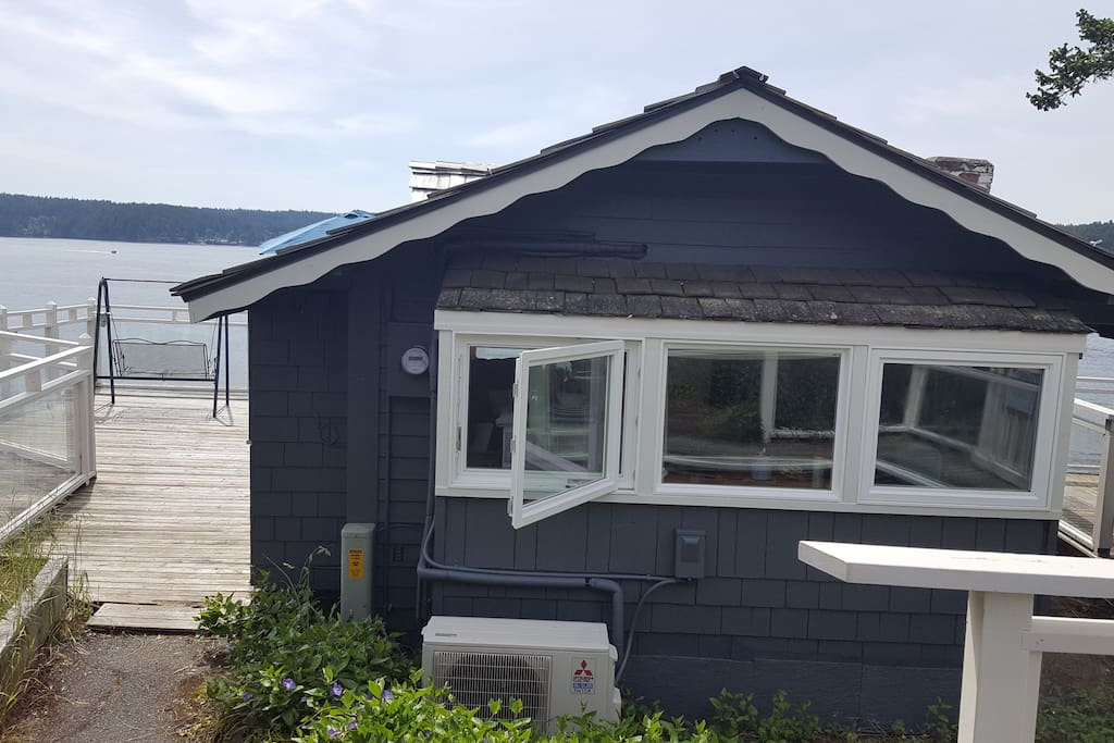 We recently painted the cottage this lovely blue-gray color. We are hoping to have professional photos taken of this change soon.