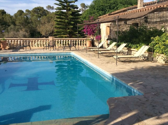Natural Finca Sa Cleda with Horse farm, Pool, Garden, Terrace & Wi-Fi; Parking Available