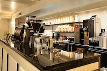 """Ninth Street Espresso"" Coffee Bar in the Lombardy."