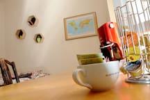 Kaffee und Tee für den entspannten Nachmittag