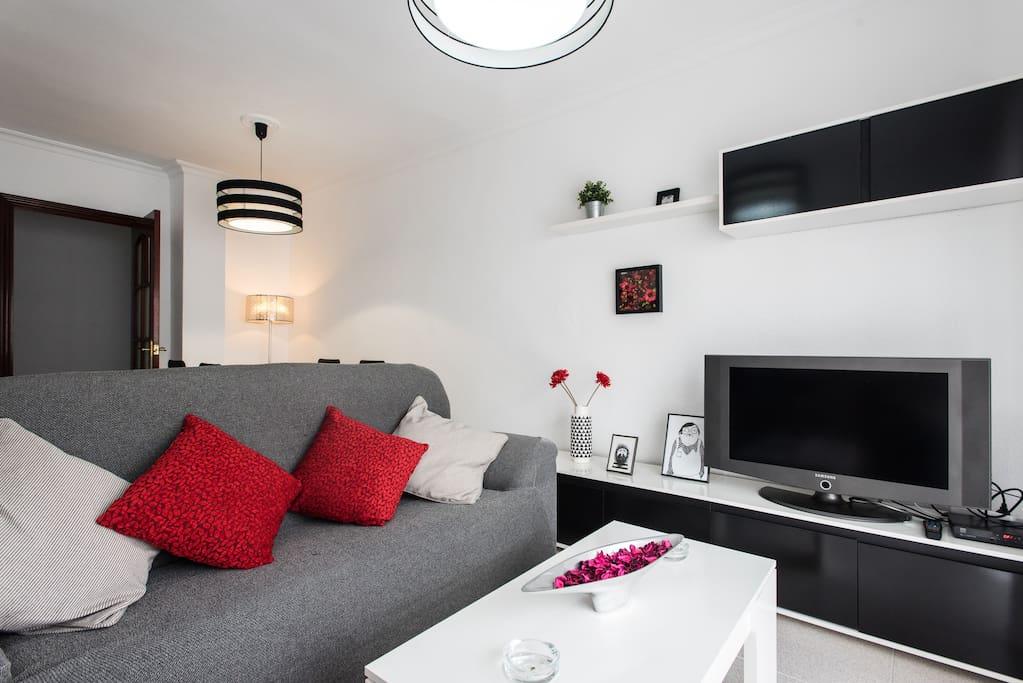 SALON COMEDOR / LIVING ROOM