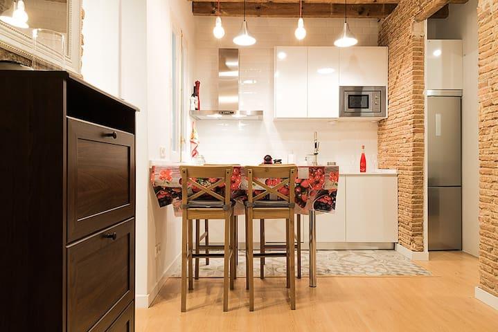 LOFT NUEVO EN EL CENTRO DE MADRID (PALACIO) - Madrid - Apartemen