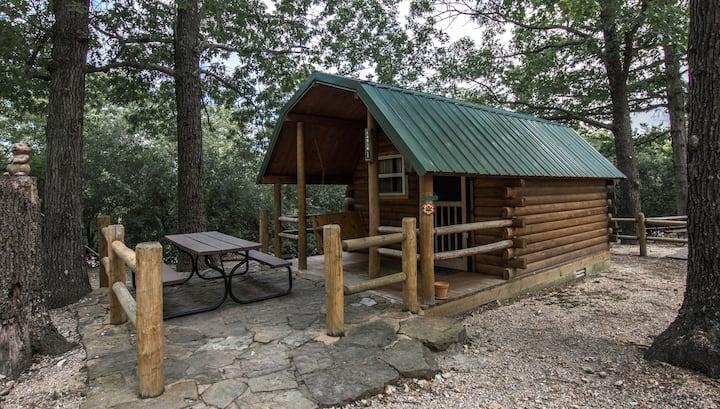 Eureka Springs KOA Campground Rustic Cabin