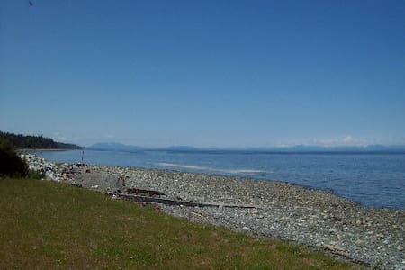 1 Bdrm condo right on Bates beach - Courtenay - Osakehuoneisto