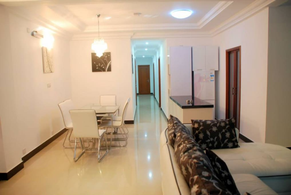 Beachfront apartment near airport apartments for rent for The family room hulhumale