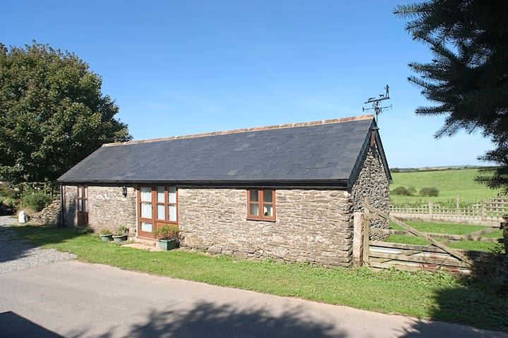Unique Converted Barn with Animals & Pool near Sea