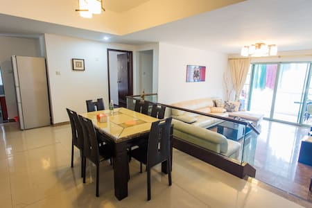 Masterbed room with super sea view - Zhuhai