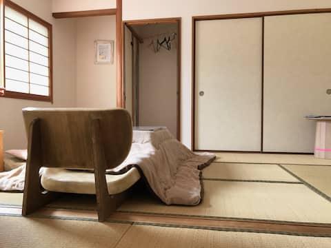 """Inn""""Sabi """"created by artists!near Koyasan Chihaya"""