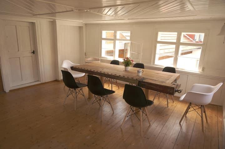300 Jahre altes Holzhaus mit allem Komfort
