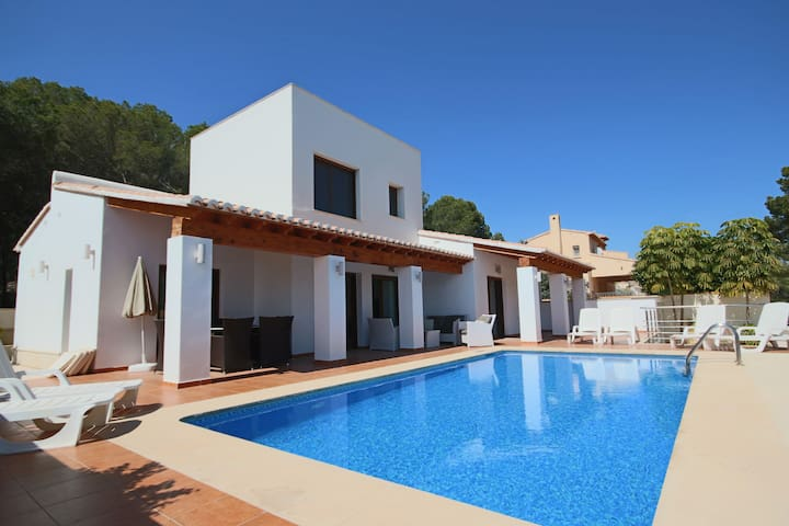Luxurious  Secluded Villa - Private Pool, Walk to the Beach  Moraira: Villa Amplolla I - Moraira - Villa