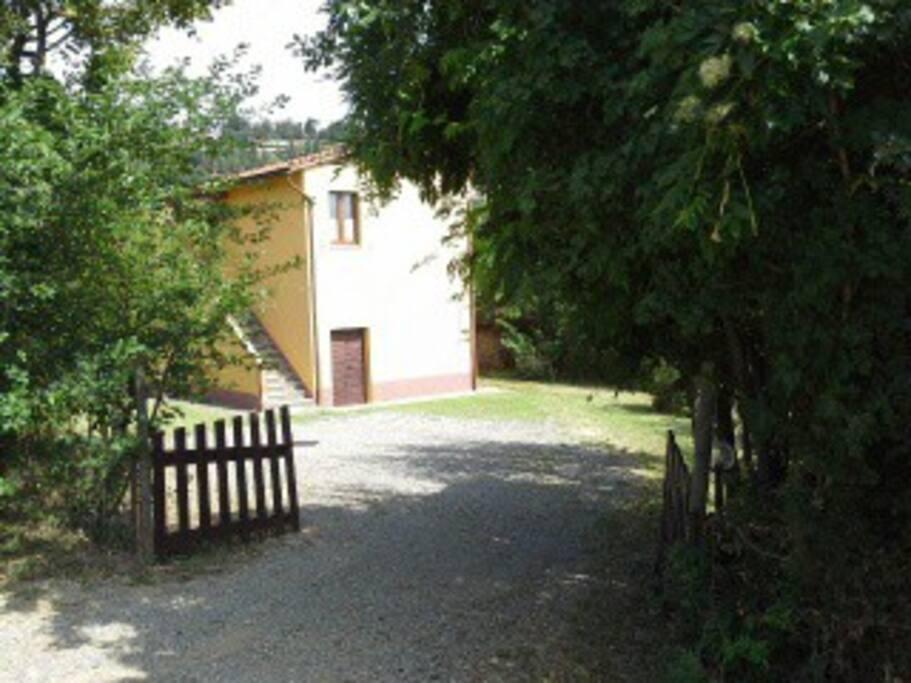 Accesso giardino