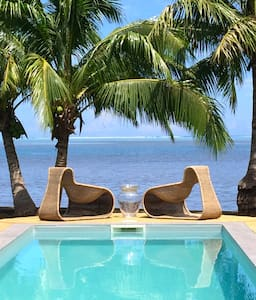 Eden Moorea bord de baie, chambre 1 avec petit-déj - Vai'anae - Bed & Breakfast