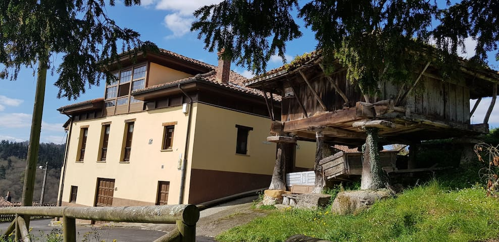 Casa rústica en Asturias con preciosas vistas